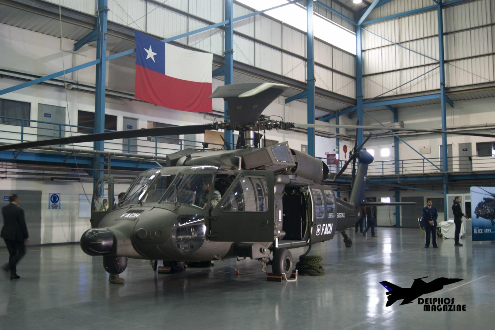 RECEPCIÓN OFICIAL DE LOS HELICÓPTEROS MH-60M BLACK HAWK PARA LA FACH