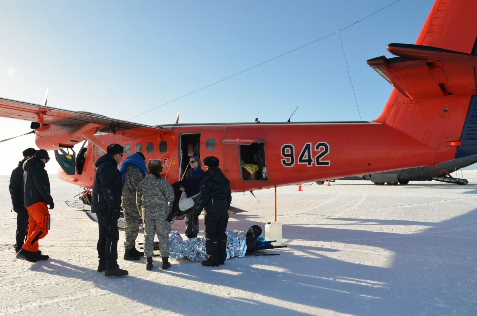 operacion EVACAM en la antartica