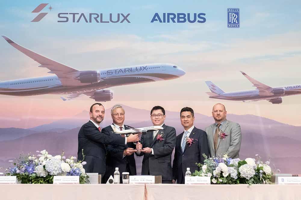 STARLUX Airlines encarga 17 aviones A350 XWB para vuelos de larga distancia