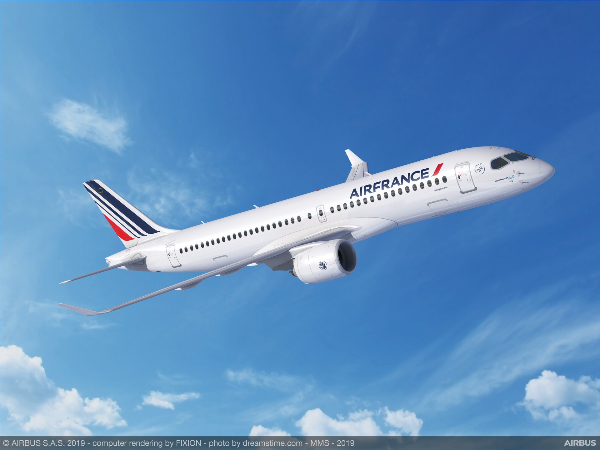 Air France-KLM firma un compromiso para 60 aviones A220