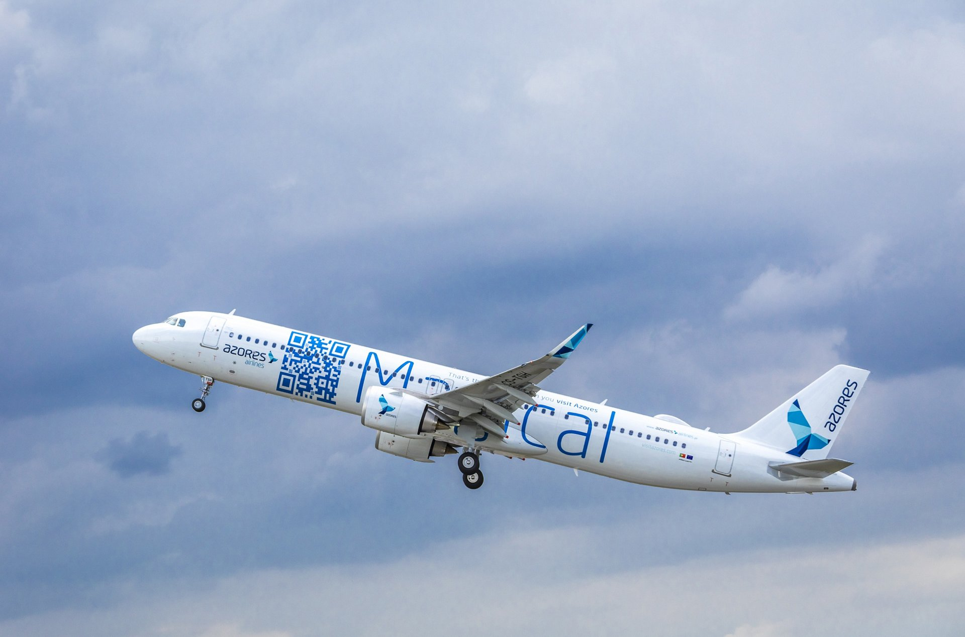 Azores Airlines recibe su primer A321LR