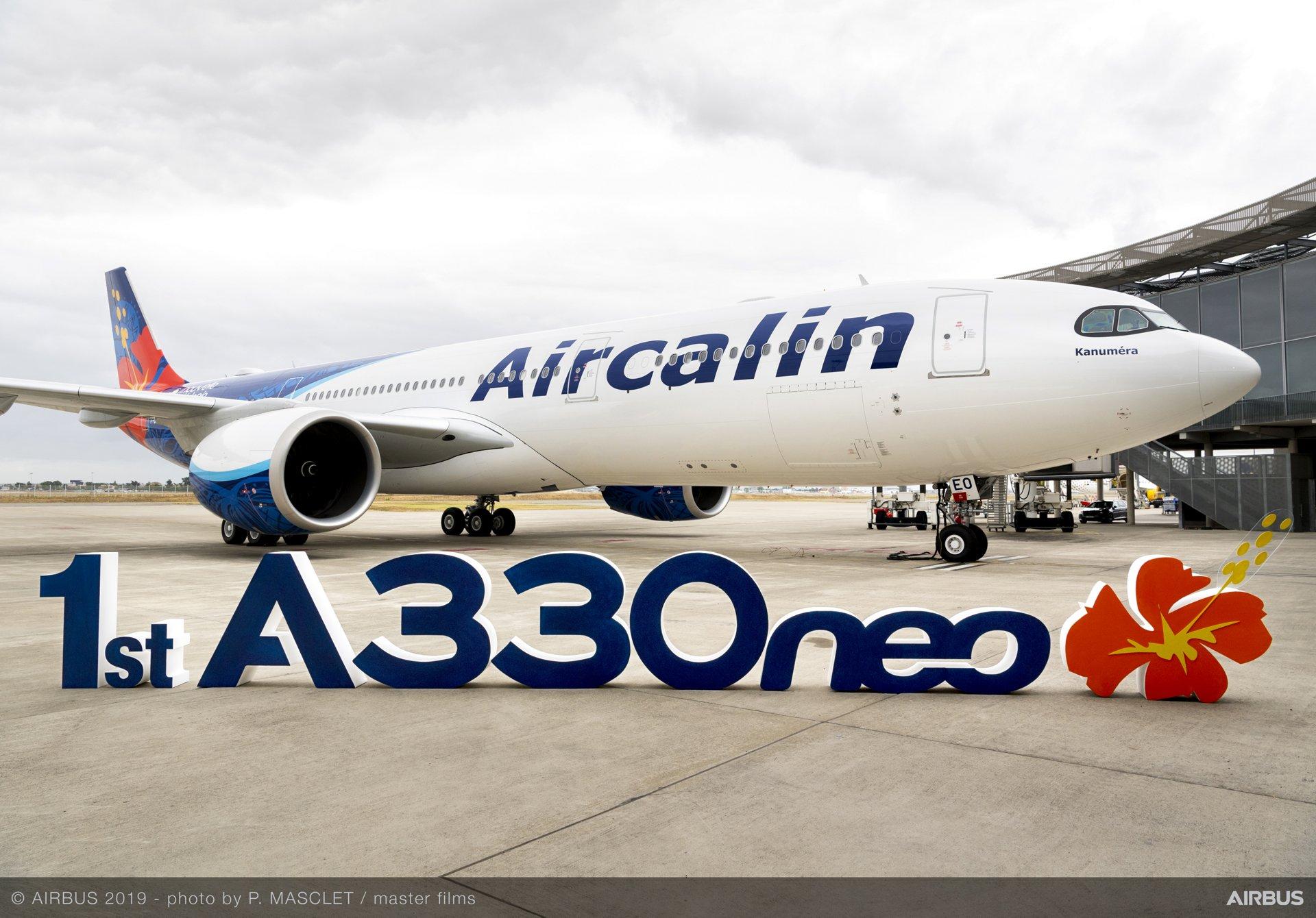 Aircalin recibe su primer avión A330neo
