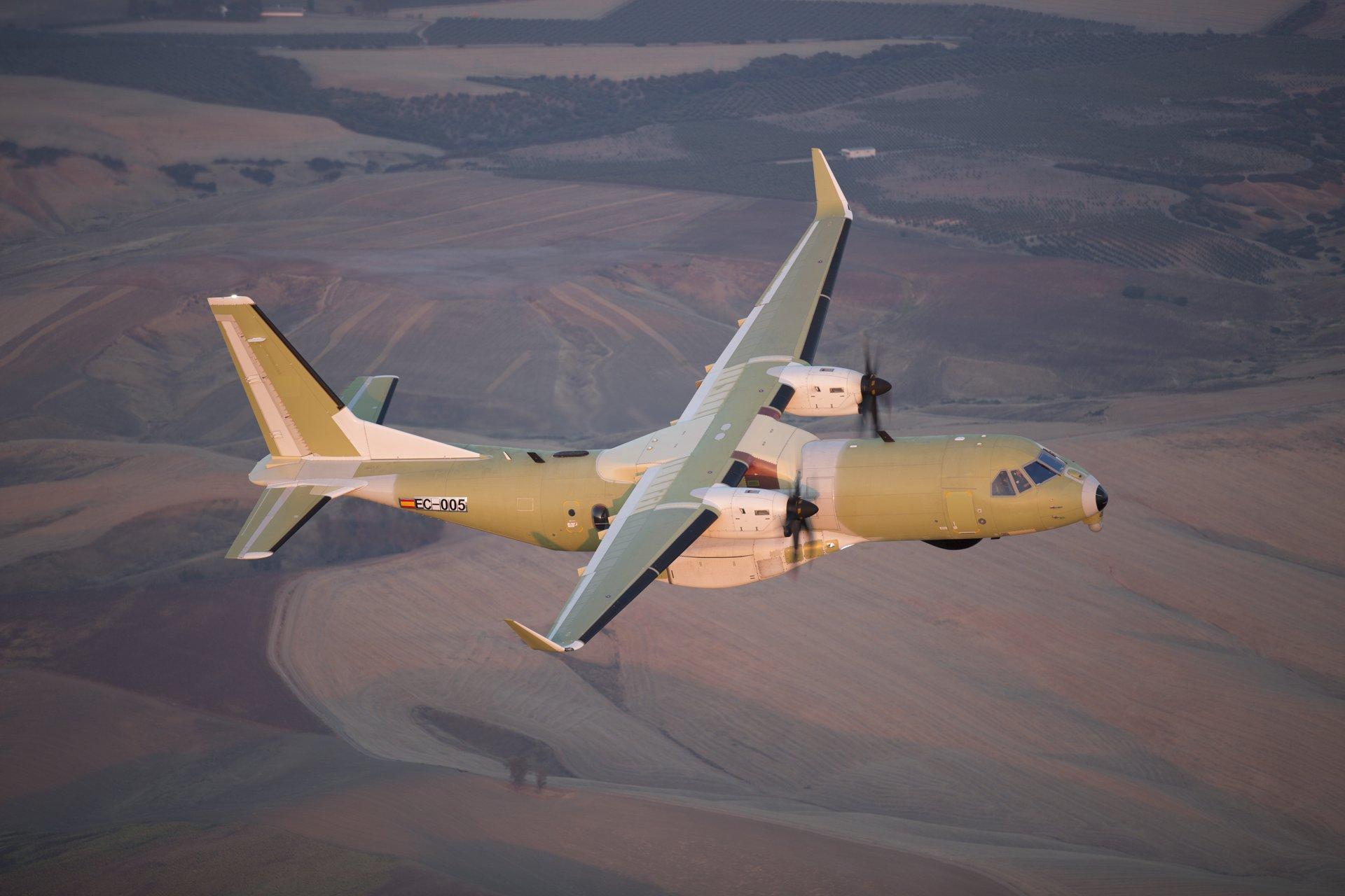 Primer Royal Canadian Air Force C295 hace su vuelo inaugural