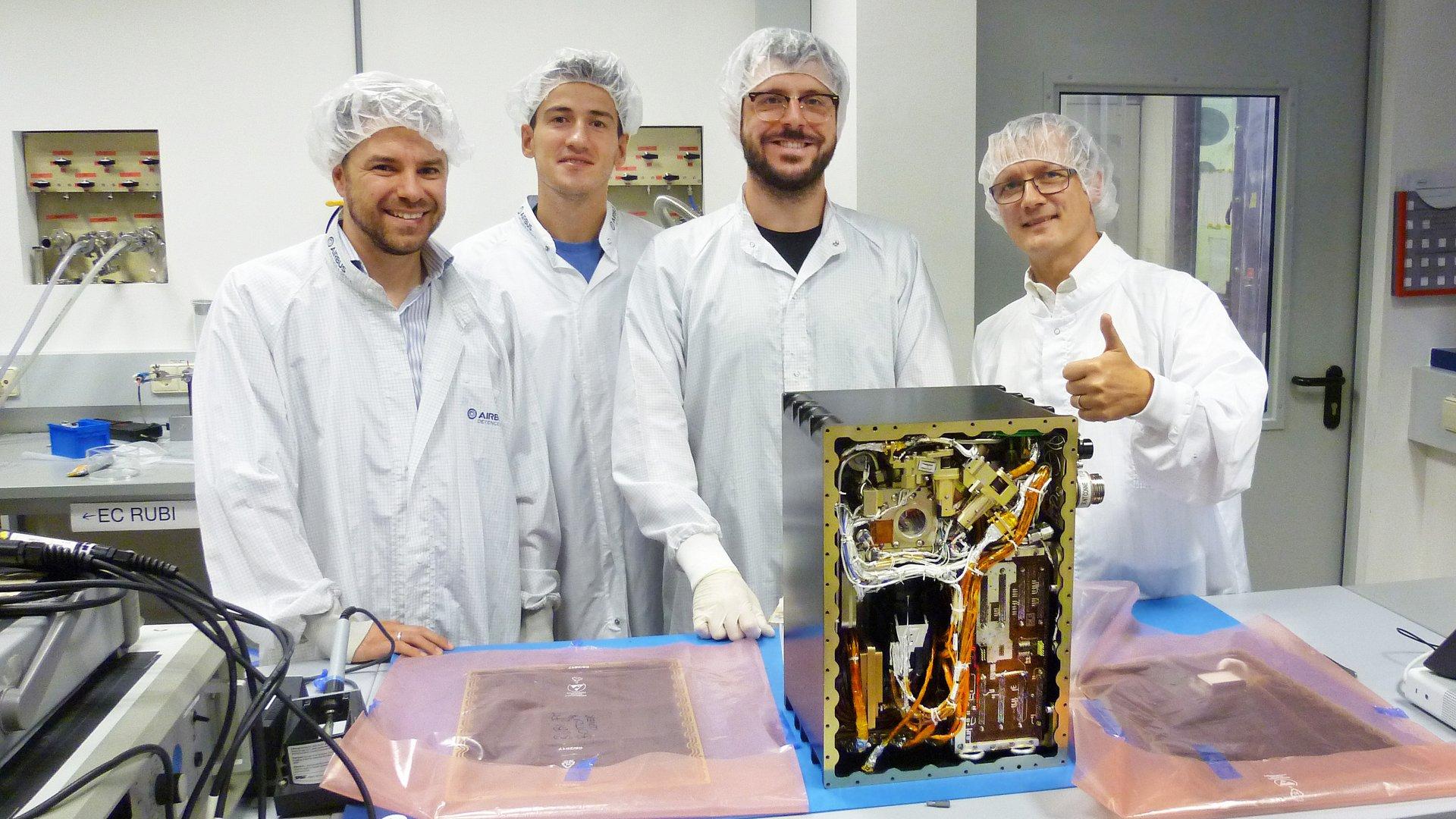"""RUBI, una """"máquina de vapor"""" para la ISS"""