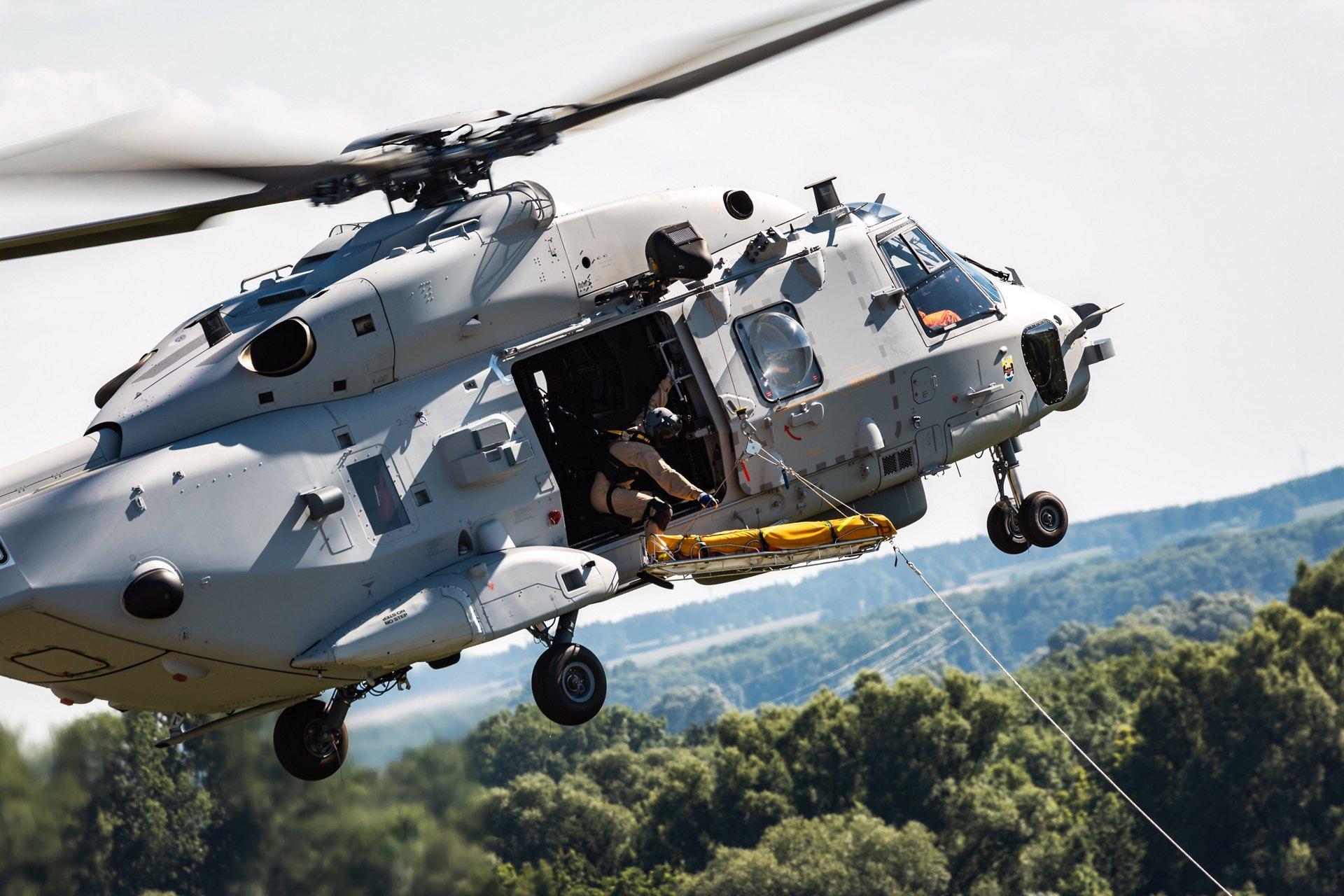 El NH-90 completa con éxito la demostración de la misión