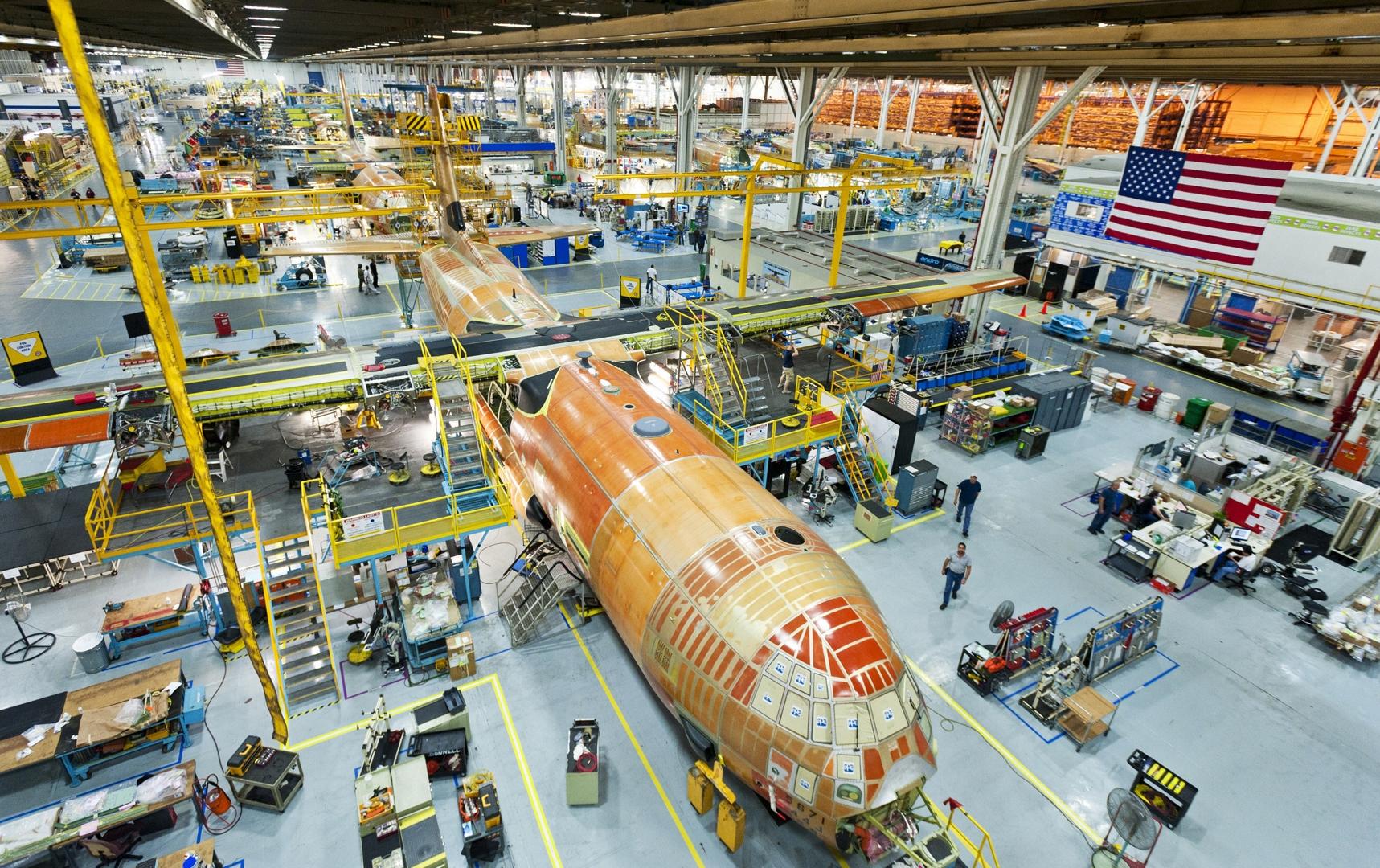 Lockheed Martin Entregará 50 C-130J a la USAF