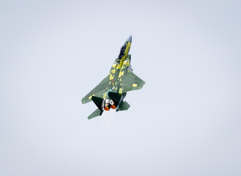 Exitoso Primer Vuelo del F-15QA de Qatar