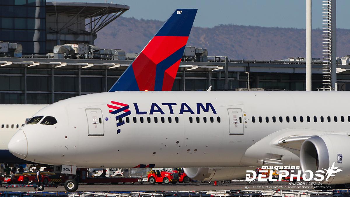 Delta Air Lines y LATAM Airlines Group firmaron un acuerdo comercial bilateral transamericano