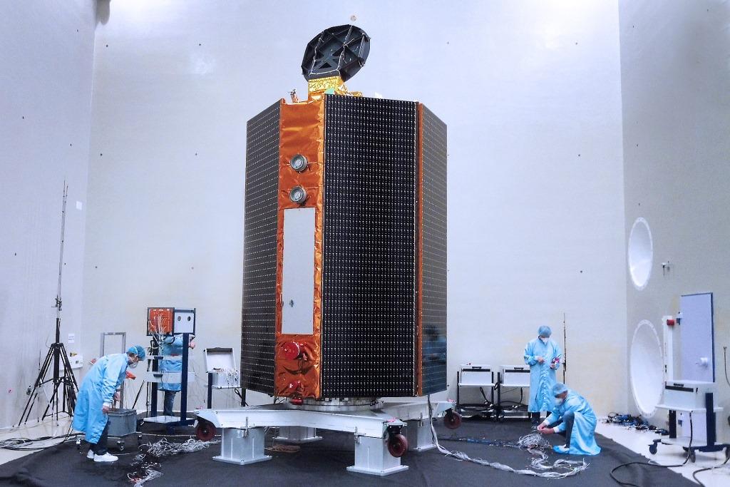 Sentinel-6A a todo volumen
