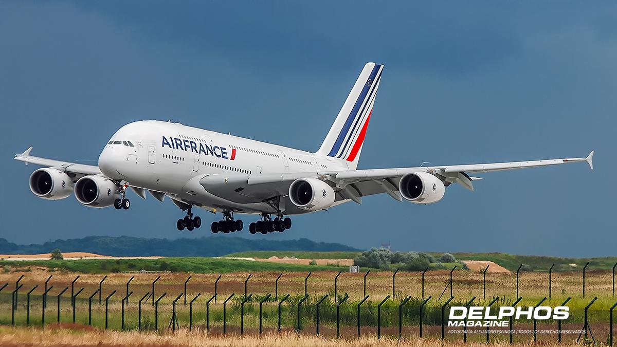 Air France retira toda su flota de Airbus A380