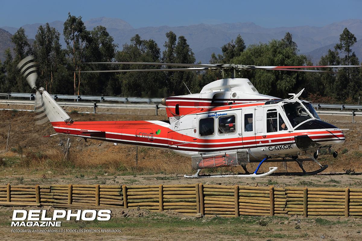 Se Accidenta Helicóptero Canadiense en la Región de Valparaíso