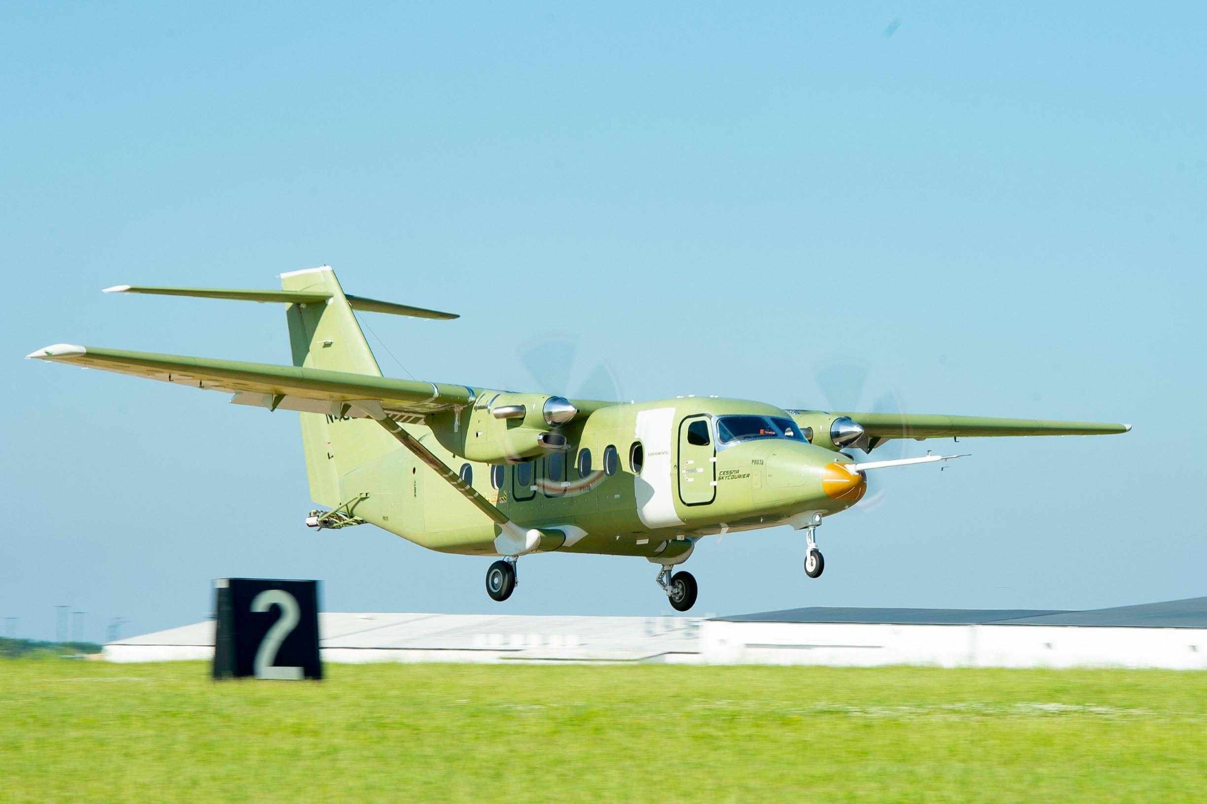 El Cessna SkyCourier realizo su primer vuelo
