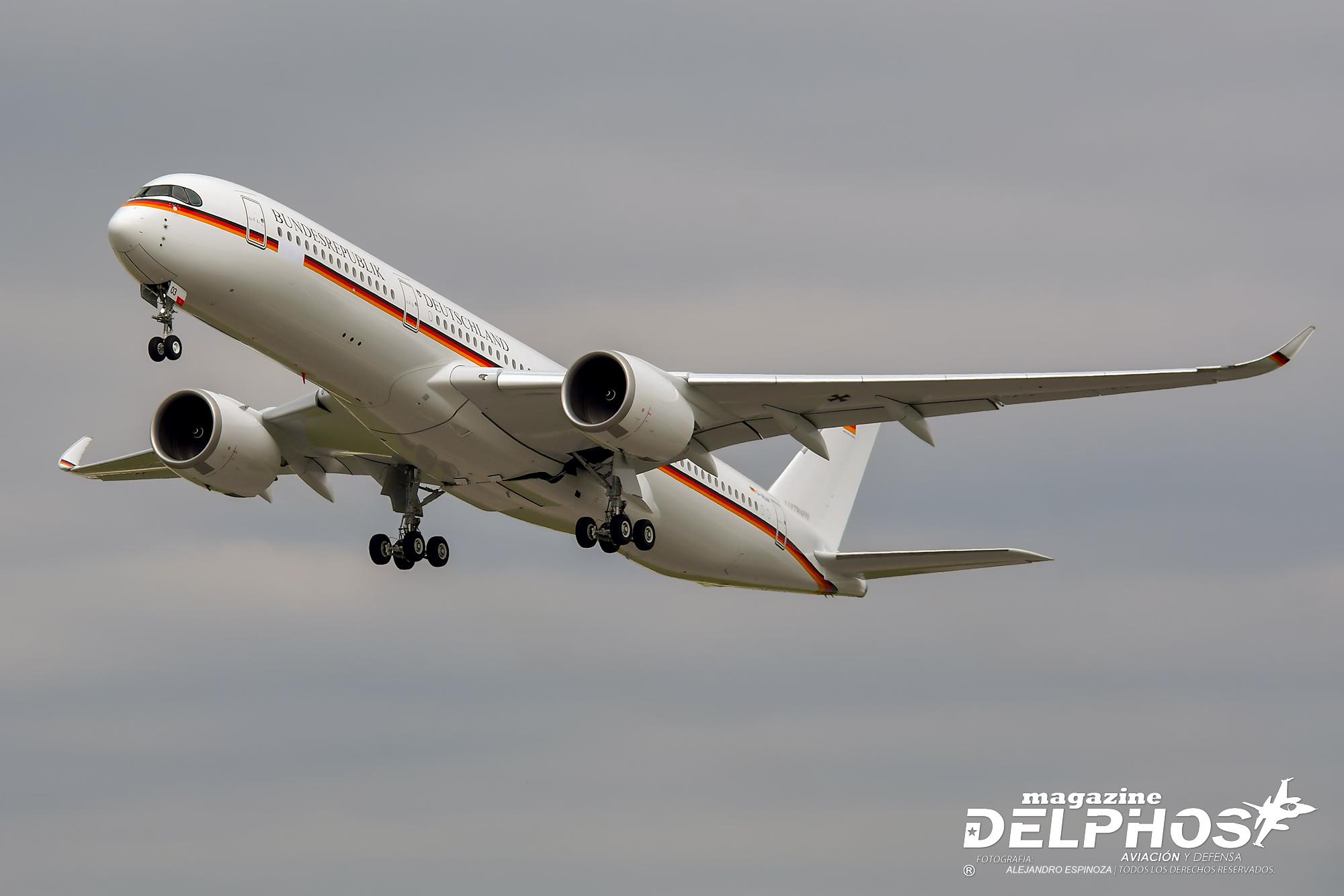 Primer Airbus A350-941ACJ adquirido para el Estado Alemán