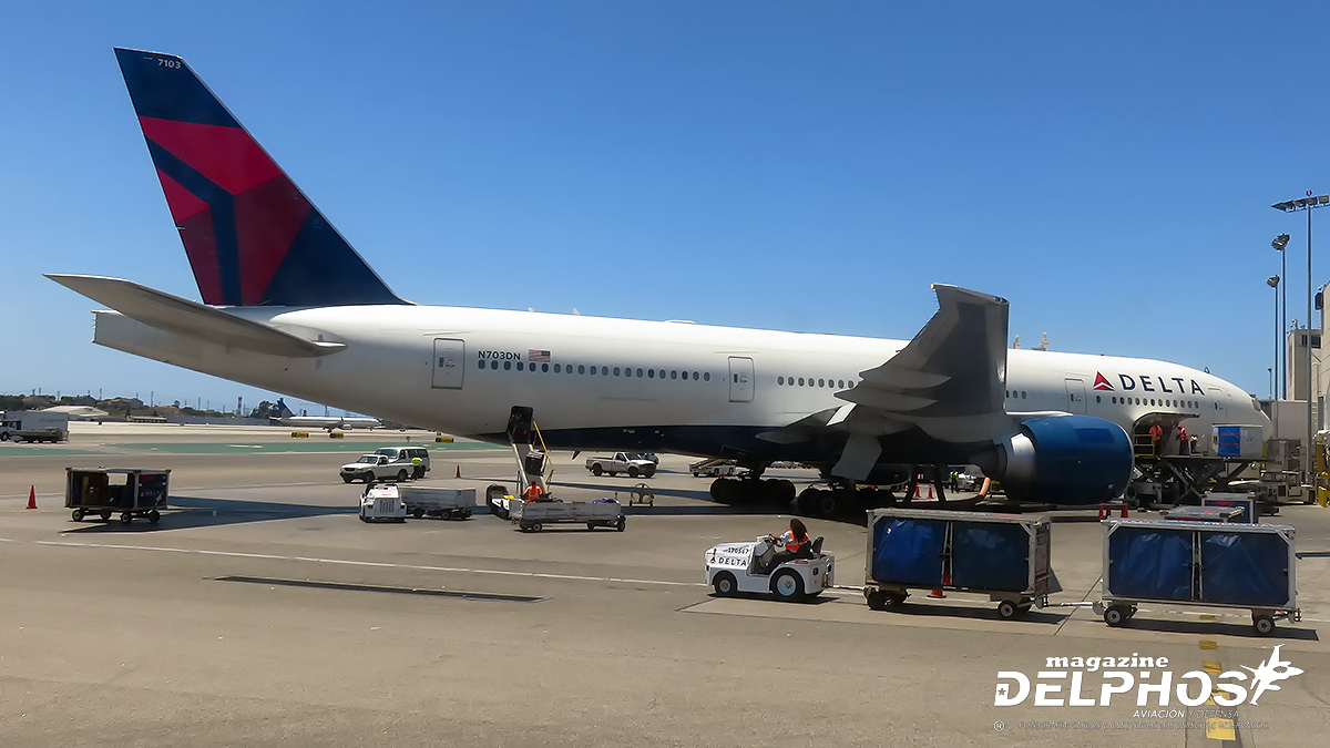 Delta Air Lines retirará sus iconos Boeing 777 a fin del 2020