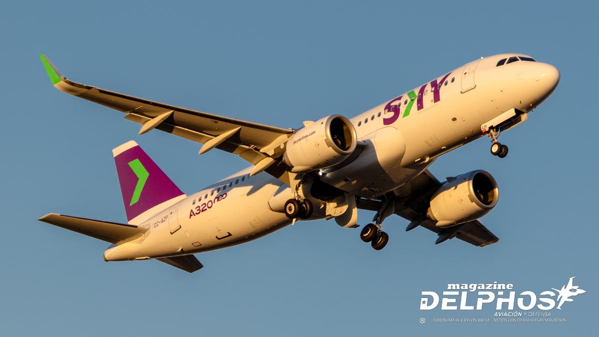 """SKY Airline retorna a los cielos el 1 de junio con su plan """"Volar Seguro"""""""