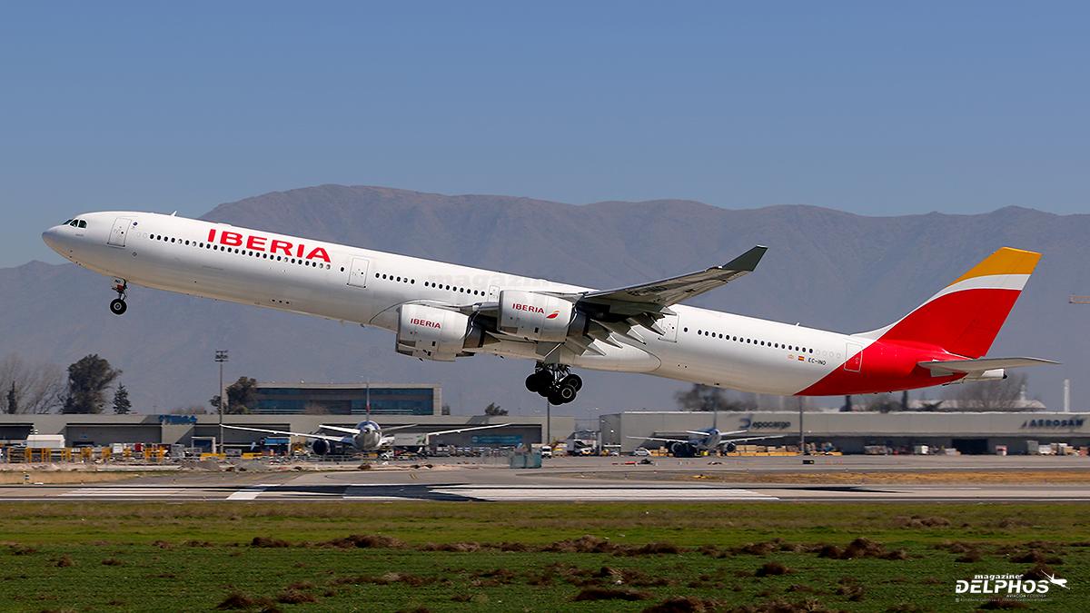 Iberia reorganiza su flota y retira sus Airbus A340-600