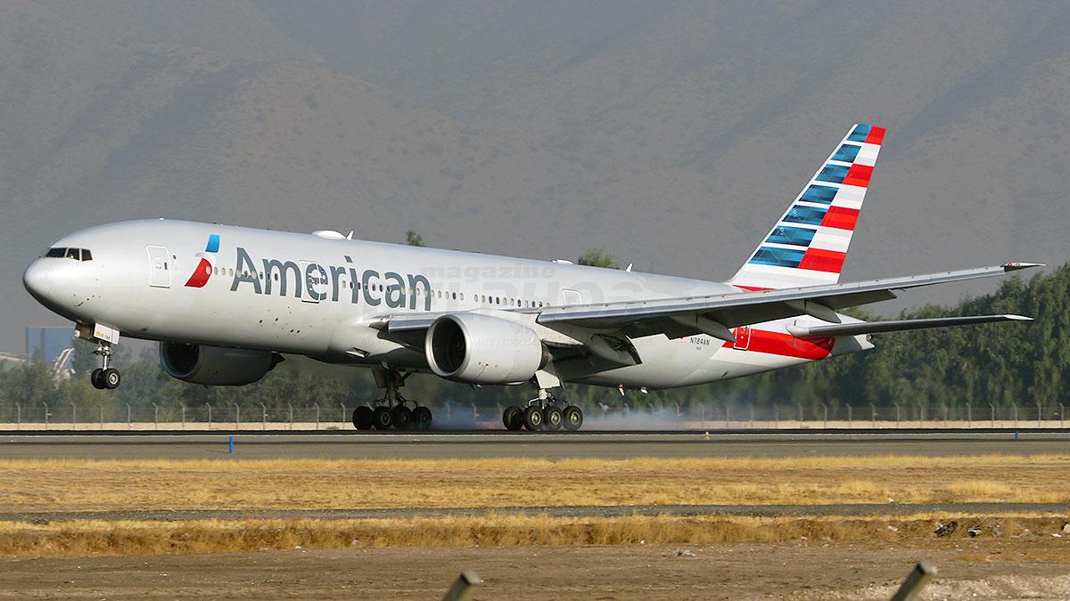 American Airlines retrasa su regreso a Santiago para Octubre