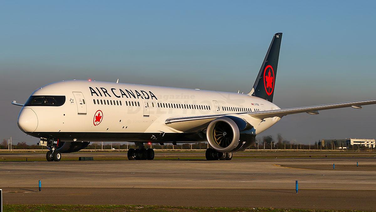 Air Canadá estima volver a volar a Santiago a partir de Septiembre