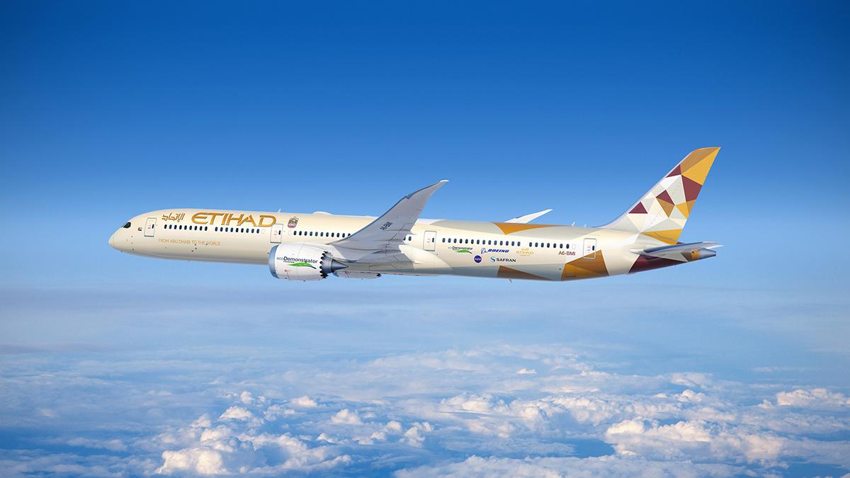 Boeing y Etihad colaboraran en el programa ecoDemonstrator