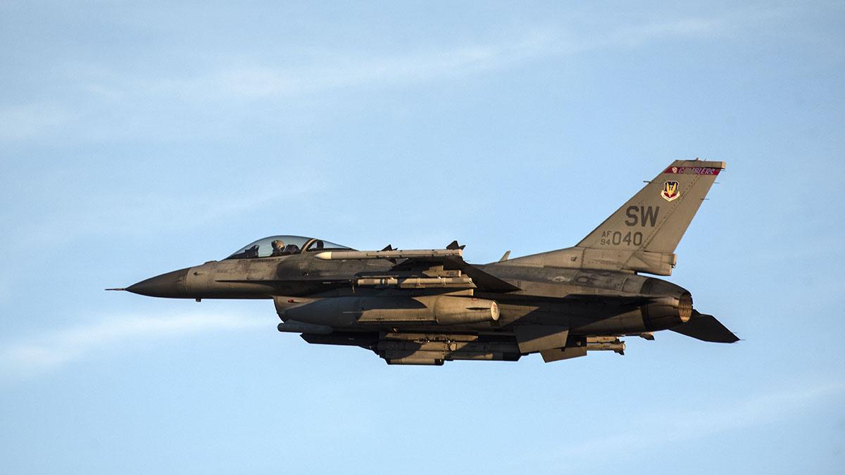 Un F-16 norteamericano se estrella en Carolina del Sur