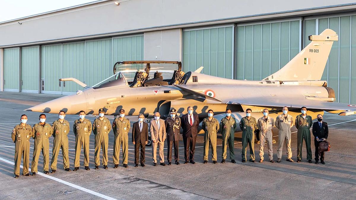 Dassault Aviation entrega los primeros cinco Rafale a la India