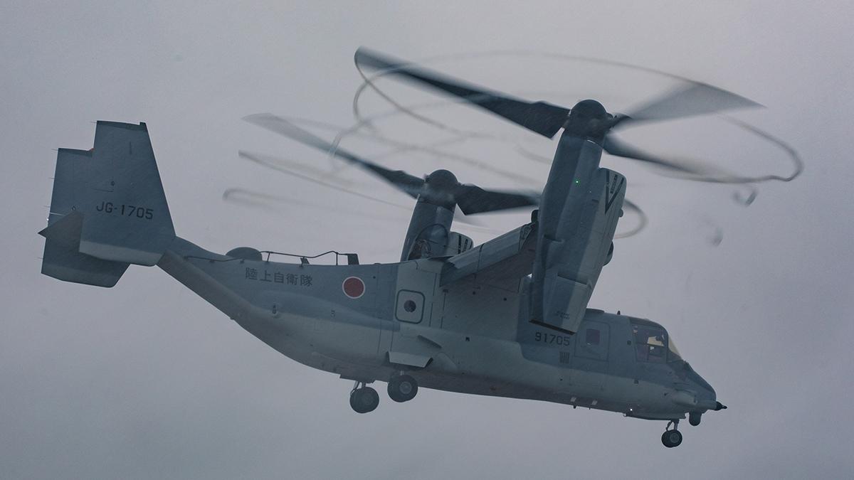 Bell Boeing entrega el primer V-22 Osprey a Japón