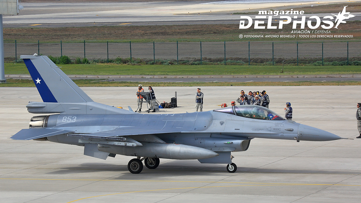 El Gobierno de Chile posterga la modernización de los F-16