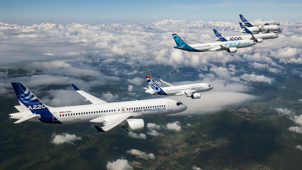 Airbus informa los pedidos y entregas de aviones comerciales de junio