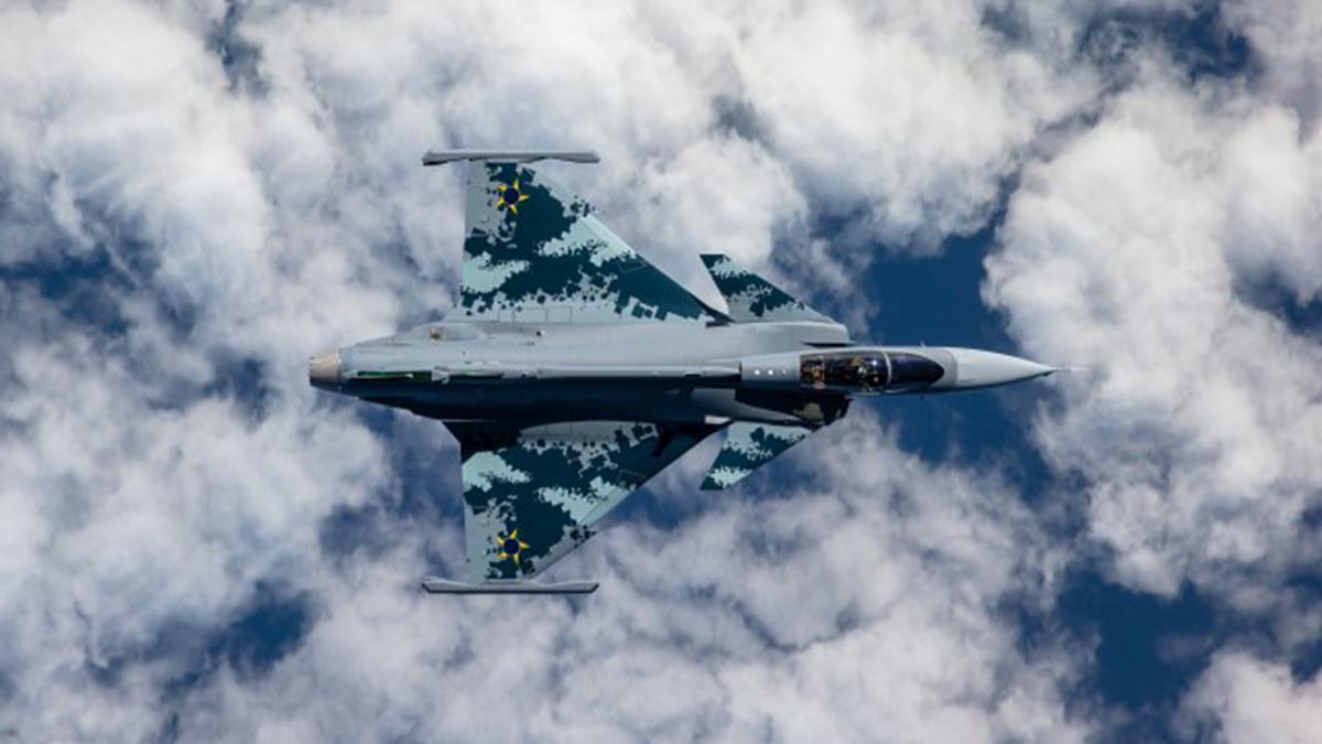 Saab inicia producción del Gripen en Brasil
