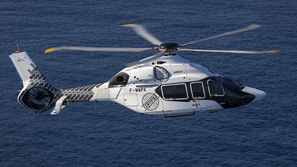 El H160 de Airbus Helicopters recibe la aprobación de EASA