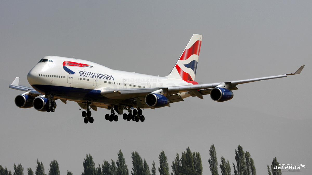 British Airways informó el retiro inmediato de sus Boeing 747-400
