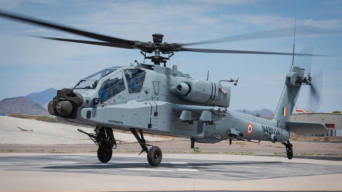Boeing completa entregas de helicópteros a la Fuerza Aérea India