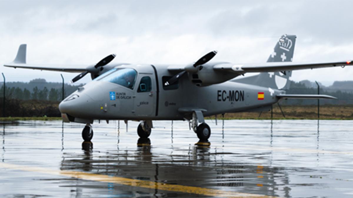 Indra realiza los primeros vuelos de prueba del Targus