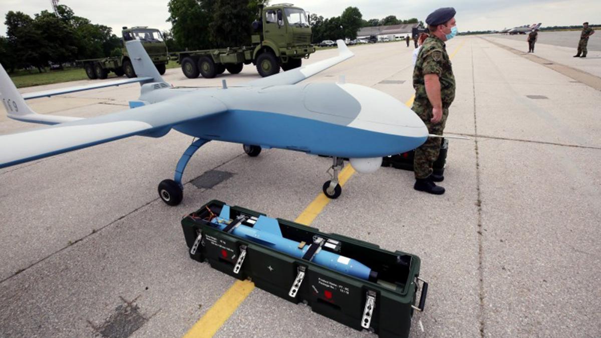 Serbia recibe UAVs de fabricación China