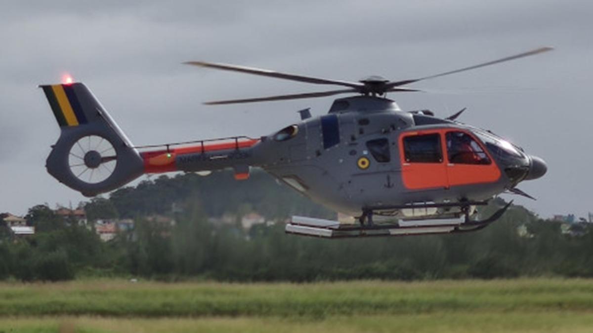 La Armada de Brasil recibe el segundo H-135 (UH-17)