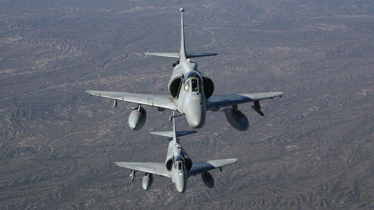 La Fuerza Aérea Argentina pierde un A-4AR Fightinghawk