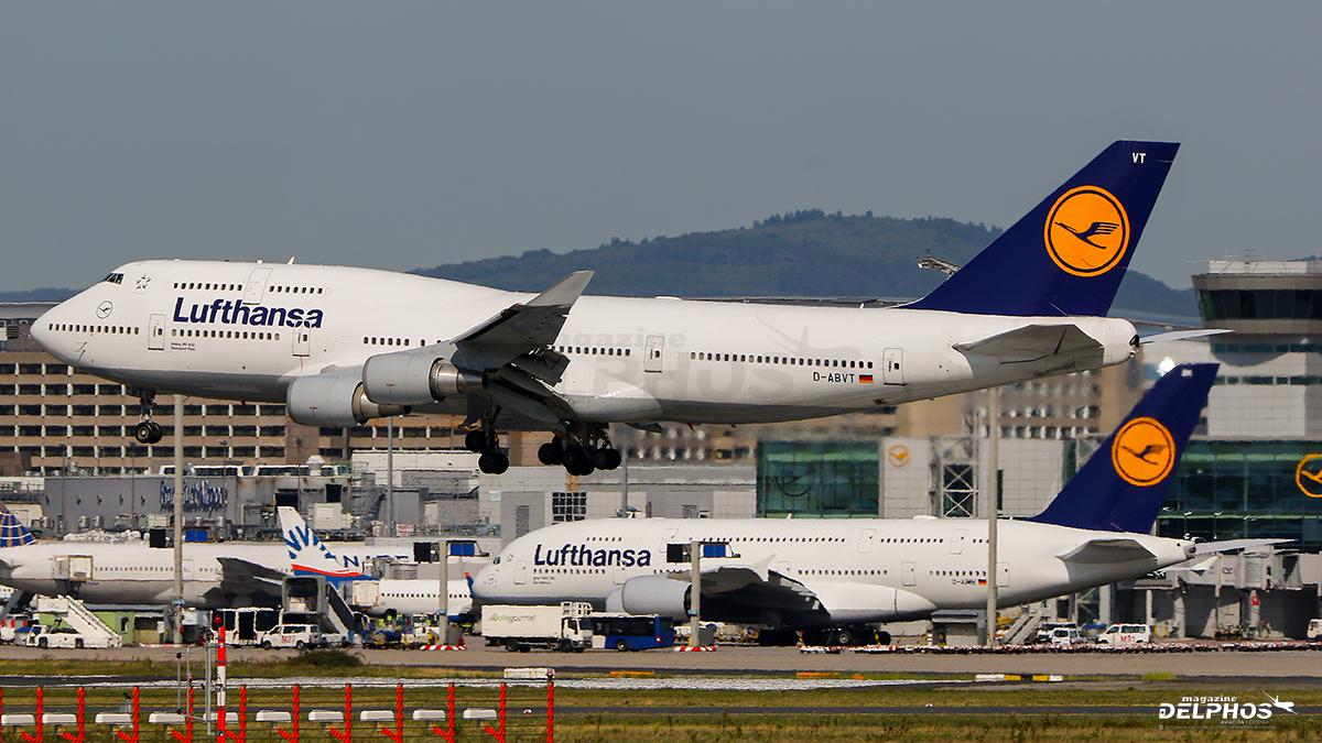 Lufthansa planea retirar por completo su flota de Airbus A380 y Boeing 747-400
