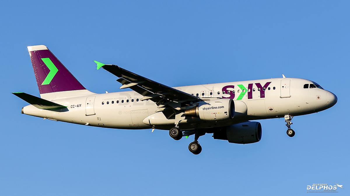 SKY Airline retira su último Airbus A319, CC-AIY, consolidando su flota solo con Airbus A320Neo