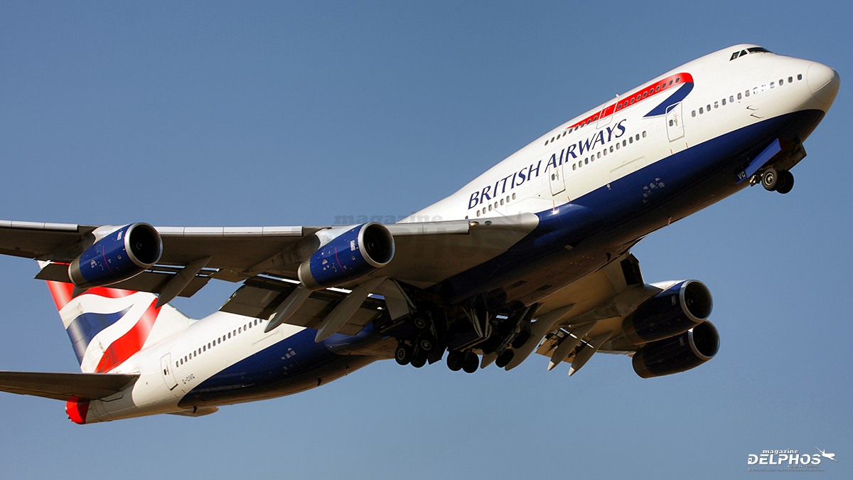 "British Airways  le  dice  ""Farewell""  a  sus  Boeing 747"