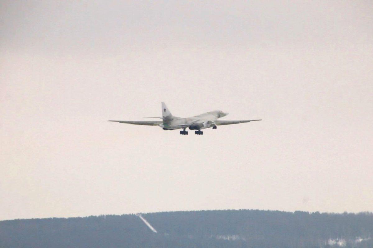 Tu-160M realizó su primer vuelo con nuevos motores