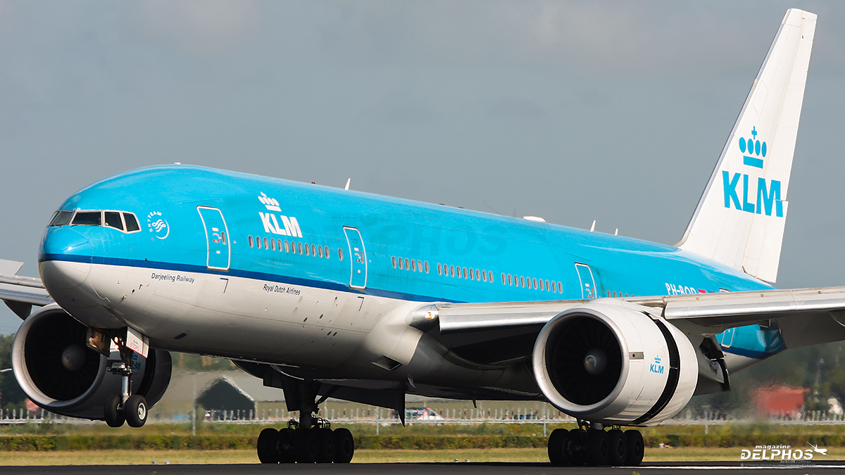KLM inicia operaciones con Boeing 777-200ER en Santiago (SCL)